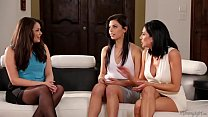 The Family Sexologist - Allie Haze, Jaclyn Taylor and Gina Valentina thumbnail