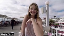 Real Teens - Teen POV pussy play in public thumb