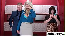 Hard Sex Tape In Office With Big Round Tits Sexy Girl (Bridgette B) video-06 video