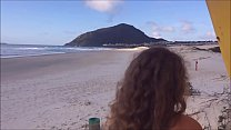 16984 young wife gets naked on public beach to tease surfers preview