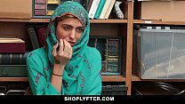 Shoplyfter- Hot Muslim Teen Caught & Harassed pornhub video