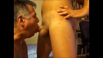daddy sucking huge twink
