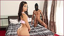 BANGBROS - Burglar With Big Black Cock Steals G... - download porn videos