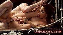 Cat slave and big tits brutal dildo Poor little Jade Jantzen, she