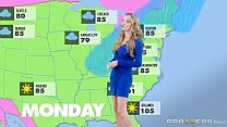 Forecasting Several Inches or what to expect from Hurricane with (Jane Douxxx) pornhub video