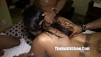 thicka then a snicka gangbanged by king gudda jimmy deak and stretch p2 - download porn videos