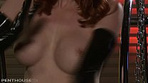 Ultra Fit redhead Milf Kendra James makes an absolute Perfect Striptease thumbnail