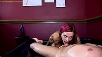 Anna Bell Peaks Gives Erotic Oil Body Massage   Sex and Blowjob thumbnail