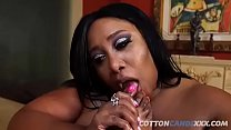 Busty Summer LaShay Gets Eaten Out By BBW Cotton Candi