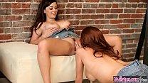 Twistys - (Taylor Vixen, Sabrina Maree) starring at Big Boobie Painting video