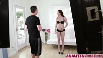 Anal slut Casey Calvert want photoshoot and a big dick in her ass