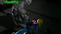 Samus fucked by a monster
