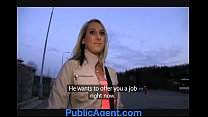 PublicAgent Jenkas hot body is bent over and fucked hard image