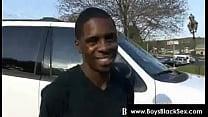 Blacks Thugs Breaking Down Sissy White Boys Hard 11