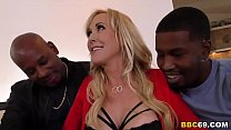 Busty MILF Bran di Love Wants BBC In Her Holes BC In Her Holes