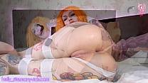 Leeloo Enjoys Huge Monster Cock Creampies/gapes