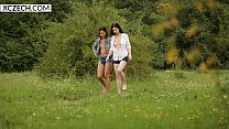 Lesbian Hitchhiking with Daphne Angel - XCZECH.com