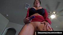 Horny Cougars Deauxma & Savannah Steele Fuck Cock Machine! image