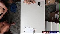 Petite little asian offender punished for shoplyfting by a big dick Vorschaubild