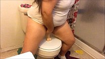 Whore Riding and Sucking in Bathroom thumbnail