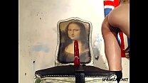 Even Mona Lisa get a first class view