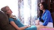 Some lesbian action with Angela Sommers and Jayden Jaymes image
