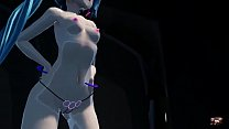 3D MMD 2b Joins Miku In Mad Lovers