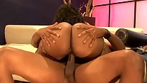 Big tits ebony gets fucked doggystyle . Part 2 ...
