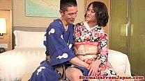Ladyboy amateur kisses before anal fucking preview image