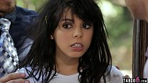 18 year old feral teen woman gets taken in by a...