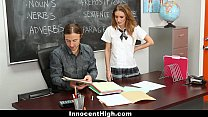 Innocenthigh - Schoolgirl Maci Winslett Fucks For The Grade!