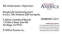 NEW RELEASE: Creampie Nicole Aniston! Naughty America