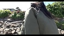 NERDY ASIAN TEEN FLASHES HER TITS IN PUBLIC AND FUCKED HARD preview image
