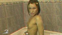 Masturbation in bath Dana C Ashley