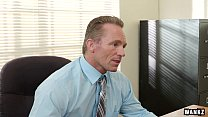Russian Blonde Subil Seduces Her Boss! preview image