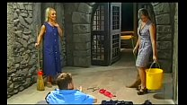 Betty Andersson and Ildiko in an Anal Threesome