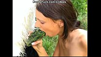 Sexy strap on fuck with young artist outdoor tumblr xxx video