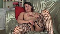 Brunette Clarrisa Masturbating Her Pussy