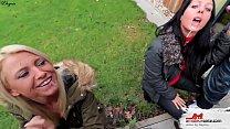 Die versaute Spermaschlampen Familienfeier  Double Blowjob Vorschaubild