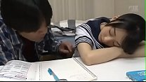 Japanese Cute Sister Force Brother to Cum Inside