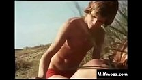 Son has sex with his mother (German retro movie)   Milfmoza.com
