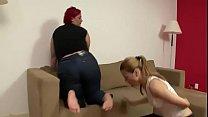 Mature fat lesbian I met on Bbwgrand.com foot worship
