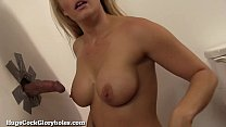 Busty Blonde Finds A Gloryhole In Her Dressing Room! Vorschaubild