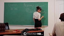 FantasyHD Hot for teacher with sexy Capri Anderson Thumbnail