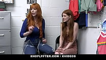 Hot Teen & Milf Jane Rogers And Lauren Phillips Punished For Shoplifting