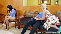 Brazzers - Tempted By Teens Aubrey GoldandIsis LoveandBuddy Hollywood preview image