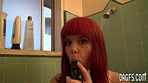 Emo girl caught fingering in the shower thumbnail