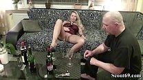 Neighbour Seduce German MILF to Fuck with Wine Tasting thumbnail
