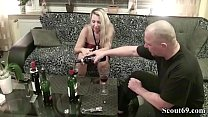 Neighbour Seduce German MILF to Fuck with Wine Tasting Vorschaubild