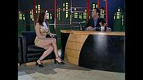 Chrissy Taylor banged on live TV